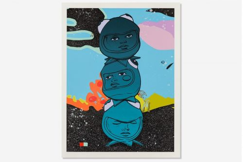 Avant Arte Exclusively Launches Hebru Brantley's '3 THE HARD WAY' Sculpture, Print