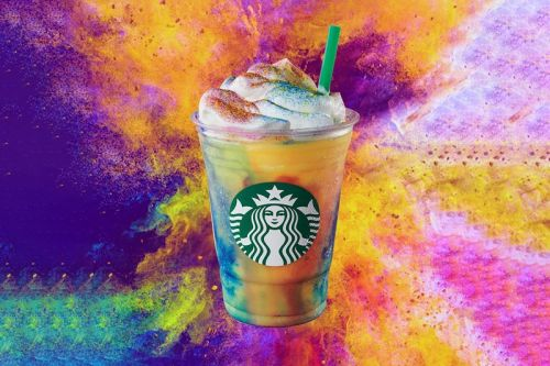 Starbucks Launches Limited-Edition Tie-Dye Frappuccino in U.S. & Canada