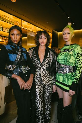 Philipp Plein served up three courses of fashion at NYFW