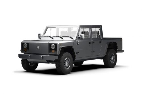 Bollinger Motors Debuts a Fully-Electric Pickup Truck