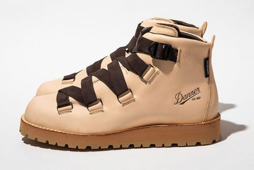 Meanswhile and footwear giants Danner team up team up to create the best looking Mountain Boot yet