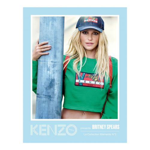 Kenzo Announce Britney Spears As The Face Of LA Collection Memento N°2 Campaign