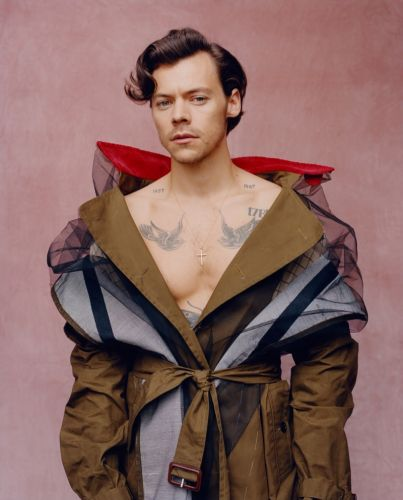 Harry Styles Lands First Solo Male Vogue Cover, Talks Fashion