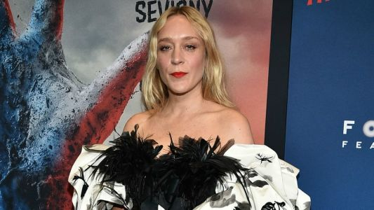 Chloë Sevigny Looks More Comfortable in a Feathered Marc Jacobs Gown Than Most People Do in Sweats