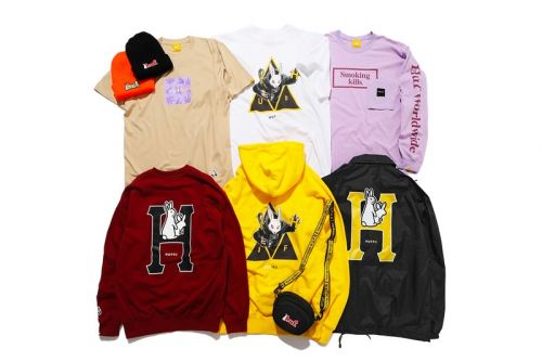 HUF and Fxxking Rabbits Unveil Bold 2020 Capsule