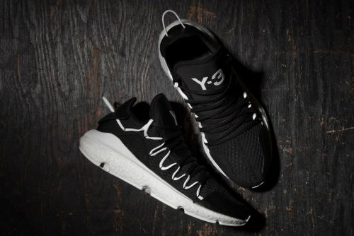 "Adidas Releases Technical Y-3 Kusari in ""Core Black"""