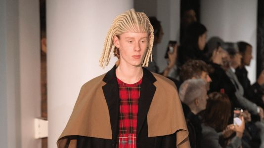 Hey, Quick Question: What Was Comme Des Garçons Thinking With These Cornrow Wigs?