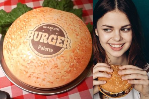 This burger is a cheesy new way to smear beauty on your face