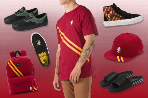 Millennials are going nuts over Vans' Harry Potter shoes
