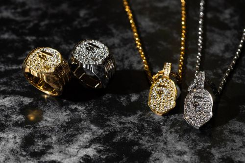 BAPE Adds Rhinestone Jewelry to Its Lineup