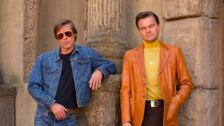 'Once Upon A Time In Hollywood' First Look Reveals '60s-Era Leonardo DiCaprio, Brad Pitt