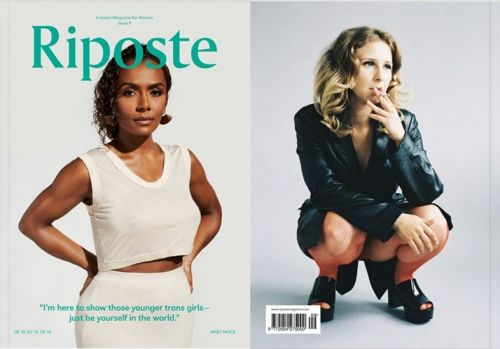 Riposte's new issue is a who's who of strong, powerful women