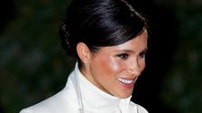 Meghan Markle Steps Out For Private Trip To New York City