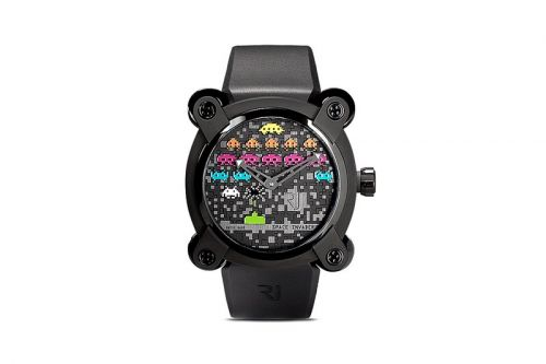 RJ Watches Takes It Back to 1978 With 'Space Invaders'-Themed Pop 46mm Timepiece