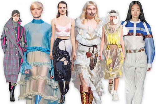 Glitter faces and forests: the must-see moments of Paris Fashion Week
