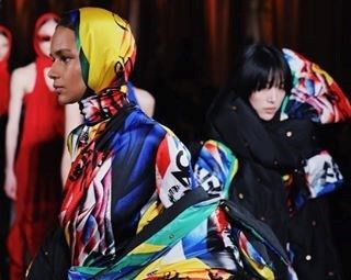 Punk, rock 'n' roll, and football clashed at Versace AW18