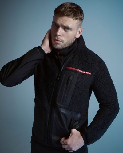 Gus Kenworthy Goes Sporty in Prada Linea Rossa Campaign
