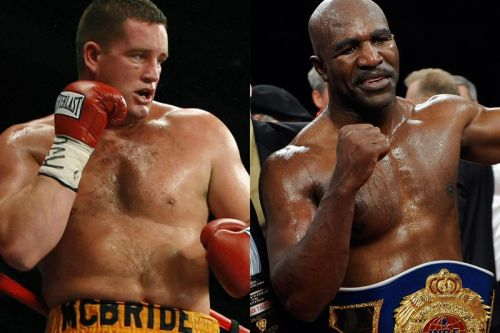 Evander Holyfield To Face Kevin Mcbride as Legend's First Fight Since 2011