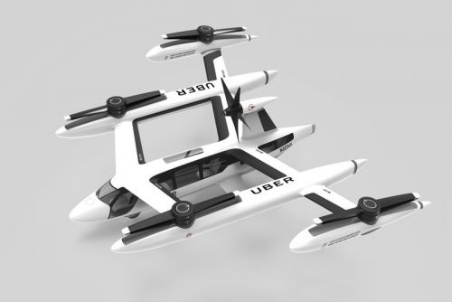 Uber Reveals Its Latest Flying Taxi Prototype