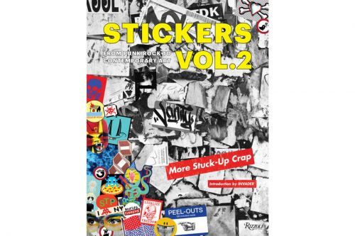 KAWS, Banksy, Jenny Holzer & More Artists Featured in New Rizzoli Sticker Book