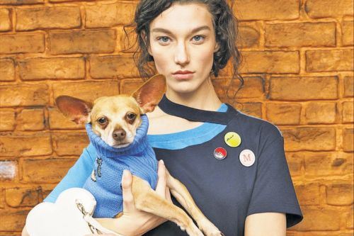 Monse cast 30 dogs to showcase its new puppy-and-me collection