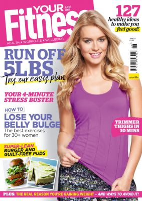 Kirsty Gets The Cover Of YourFitness Magazine