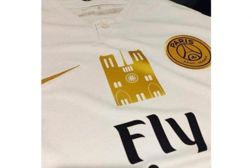 Special Paris Saint-Germain Kit Raising Funds for Notre Dame