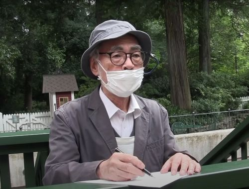 Watch Hayao Miyazaki sketch cute characters for the Studio Ghibli Museum