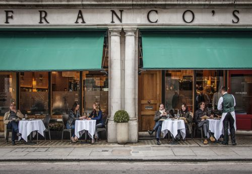 Franco's Restaurant Reopens After Extensive Redesign