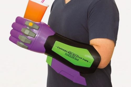 Watch 'Evangelion: 3.0+1.0' In Style With the Eva Unit-01 Arm Drink Holder