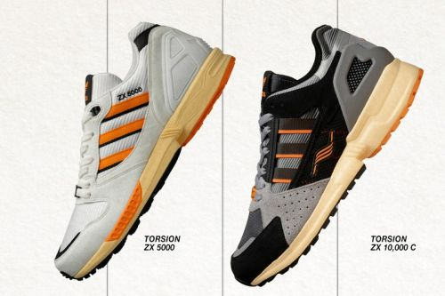 Size? x adidas Originals' ZX 5000 and ZX 10000C Are Archival Throwbacks Created for Today