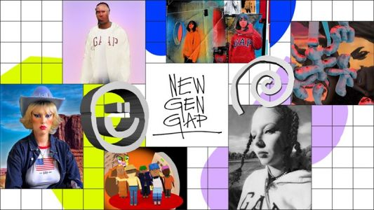 Your first look at the artworks created by New Gen Gap's six finalists