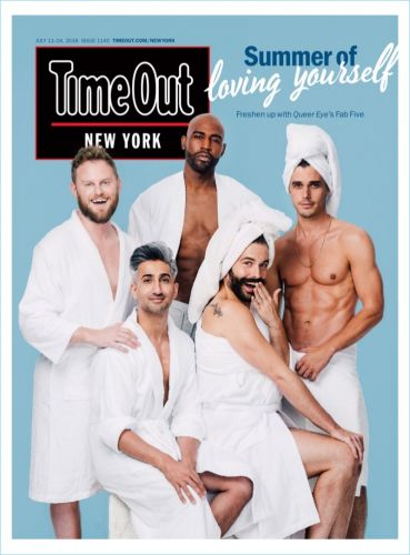 Queer Eye Stars Freshen Up with Time Out New York