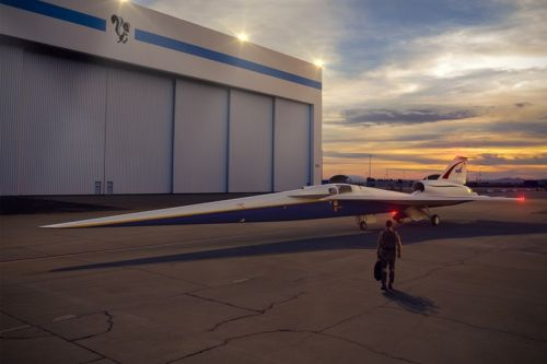 NASA's X-Plane Goes Into Production