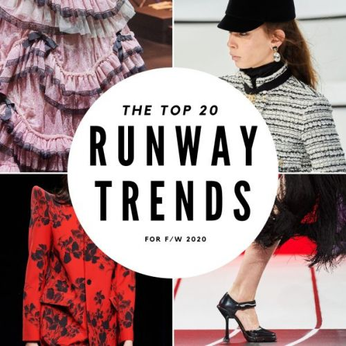The Top 20 Runway Trends for F/W 2020