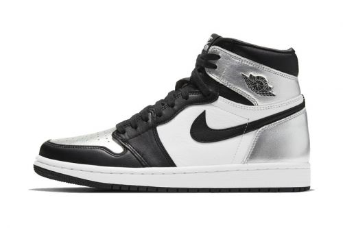 "Official Images of the Air Jordan 1 ""Silver Toe"""