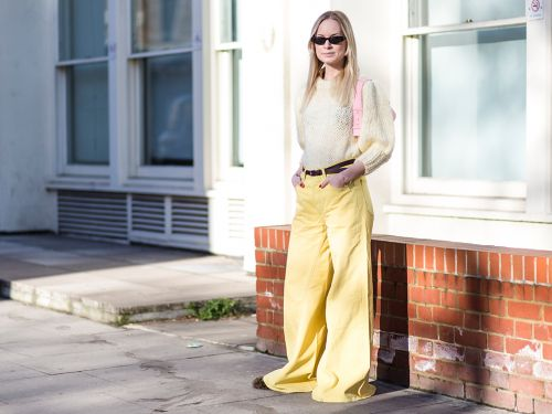 5 Ways To Wear Coloured Denim Like A Street Style Star
