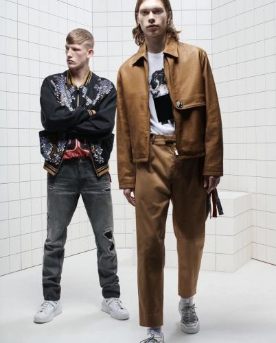 Connor Newall & Kit Warrington Star in Just Cavalli Spring '19 Campaign
