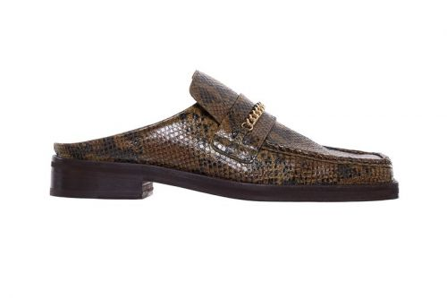 Martine Rose Drops $550 USD Python Slip-On Loafers