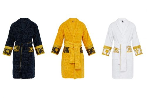 Celebrate Luxury With Versace's I Love Baroque Bathrobes