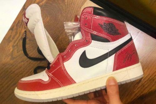 """First Look at the Trophy Room x Air Jordan 1 """"Chicago"""""""