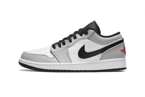 """""""Light Smoke Grey"""" Washes Over the Air Jordan 1 Low"""