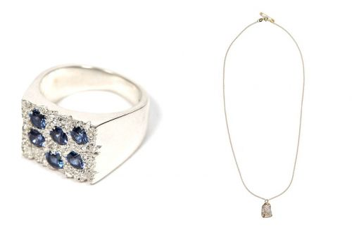 Put Bleue Burnham's Lab-Grown Sapphire-Encrusted Jewelry on Your Christmas List