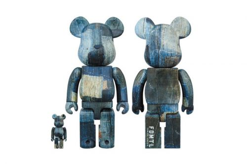 FDMTL's Signature Embroidery and Patchwork Liven up New BE RBRICK Designs
