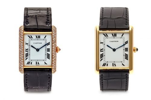 Vintage Cartier Watches From the '60s, '70s and '80s Land at Dover Street Market London