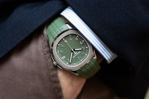 "Patek Philippe Releases Its Aquanaut in ""Khaki Green"""