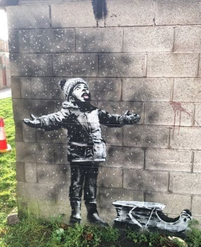 That new Banksy artwork has been sold for a six-figure sum