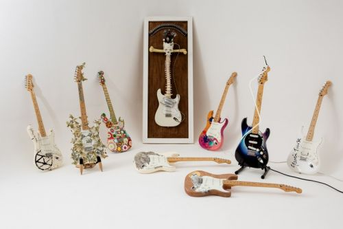 Artist-Designed Guitars Are Being Auctioned to Support Marginalized Groups in U.K