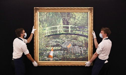 A Trademark Dispute Won't Hinder Banksy's $10M Sale