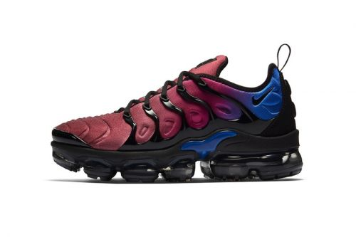 Nike's Air Vapormax Plus Welcomes an Attention-Commanding Gradient Upper